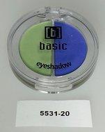 3 stuks DUO Basic oogschaduw - nr.20