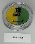 3 stuks DUO Basic oogschaduw - nr.22