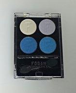 12 stuks Fogan oogschaduw - Blauw