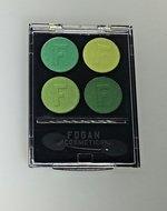 12 stuks Fogan oogschaduw - Groen
